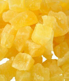 Ananas sušeni, 100g