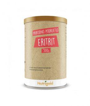 Eritrit prirodni zaslađivač 500g Nutrigold