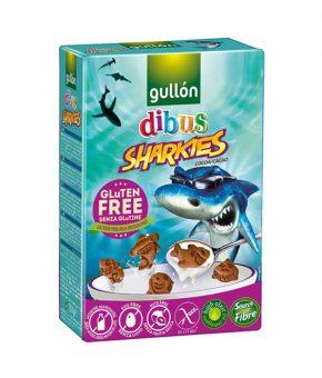 Keksi Sharkies bez glutena 250g Gullon